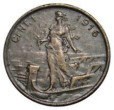 Italy 1 Centesimo coin 1916 km#40