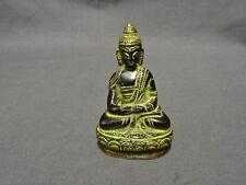Attractive Detailed 8cm Bronze Sitting Buddha Figure/Statue