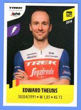 Stickers PANINI TOUR DE FRANCE 2021 #352 Edward THEUNS Trek - Segafredo