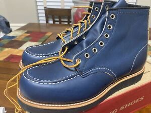 Rare Red Wing 8853 Mock 9.5E Red Wing Indigo Factory Seconds NIB Japan exclusive