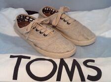 Toms Canvas Lace Up Shoes Kids Size 1