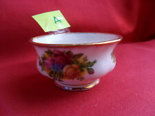 Royal Albert, Old Country Roses (OCR)  Mustard Pot (1962) A