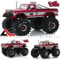 "PREORDER GREENLIGHT 13539 1:18 1975 FORD F250 KING KONG 66"" TIRES MONSTER TRUCK"
