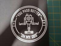 car sticker Like a boss vinyl decal sticker window bumper baws Rick ross