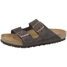 953429f675e294 Birkenstock Arizona Nubukleder Schuhe habana 052531 Sandalen Weite normal