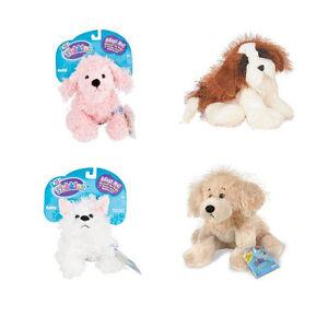 Webkinz - 4 x Dogs Plush Set - Pink Poodle St Bernard Terrier Golden Retriever