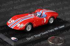 "Maserati Tipo 61 ""Drogo"" Guards Trophy 1963 #9 Canser 1/43 Diecast Model"