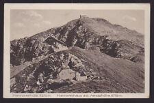 Austria 1925 Postcard cover Hannover Haus Mallnitz Arnoldhohe Karnten Mountains