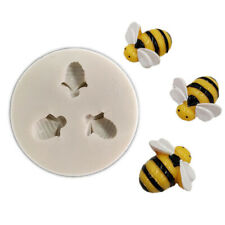 Bee Silicone Mould Cake Decorating Gum Paste Sugar Topper Chocolate Baking Mold