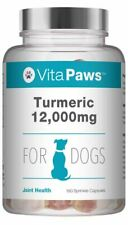 Turmeric 12,000mg for Dogs * 180 Sprinkle Capsules Joint Support