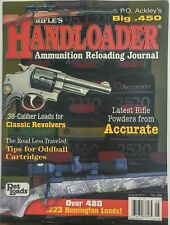 Rifle's Handloader Aug 2017 Latest Rifle Powders From Accurate FREE SHIPPING sb