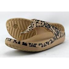 Sandali e scarpe infradito beige Crocs per il mare da donna