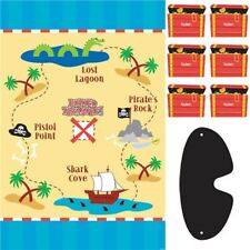 Pirate's treasure party game (similar to pin the tail to the donkey)