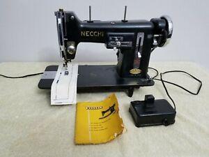 NECCHI BU Nova Sewing Machine - Working