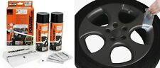 KIT PEINTURE JANTE PLASTIFIANT ELASTIQUE FOLIATEC ANTHRACITE METALLIQUE Porsche