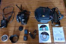 Panasonic LUMIX Digital Camera Model DMC-FZ200 w/ Charger, 2 Batteries etc