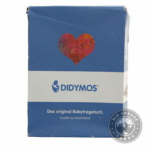 OPEN BOX Didymos SLDIR-DFANT-6 Double Face Baby Wrap Sling in Gray - 6