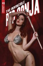 INVINCIBLE RED SONJA #3 1:10 COHEN TRADE DRESS VARIANT 7/14/21