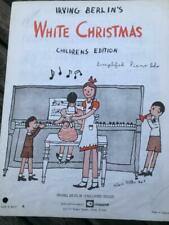 Irving Berlin's White Christmas Children's Edition Simplified Piano Solo Music