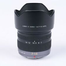 Panasonic Lumix 7-14mm f4 Rectilinear Wide Angle Lens for Micro 43 m43 Scratched
