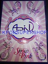 APink 2nd Mini Album - Snow Pink Autographed Signed Promo CD Great Cond.