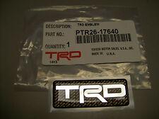 Trd Logo Emblem Toyota Racing Development Ptr26-17640 Genuine Toyota Part