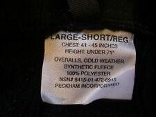 New with tag USMC Polartec Fleece Overalls USGI ECWCS size Large Short/Regular