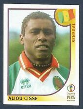 PANINI KOREA/JAPAN WORLD CUP 2002- #047-SENEGAL-ALIOU CISSE