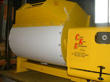 12 cubic foot Hydraulic mortar and concrete mixer from Curb King, 13 Hp Honda