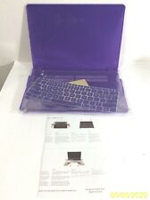 NEW Purple MacBook Case A1932 w/Keyboard Protector
