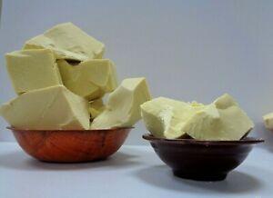 Pure COCOA BUTTER Raw Organic Natural Unrefined Pure Prime Pressed Cacao Butter