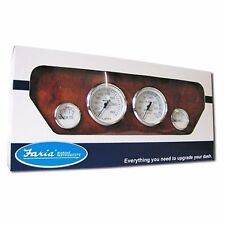 Faria Chesapeake White Stainless Steel Gauge KTF002 Outboard Boxed Set MD