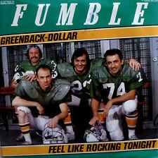 "7"" 1982 KULT & RARE IN MINT-! FUMBLE : Greenback Dollar"