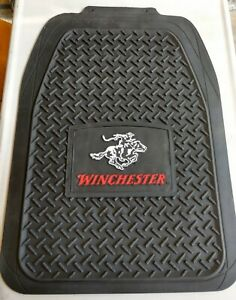 Truck Floor Mats Winchester Horse & Rider/Bullets w/ Free Hat
