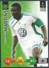 PANINI UEFA CHAMPIONS LEAGUE 2009-10 TRADING CARD-VFL WOLFSBURG-OBAFEMI MARTINS