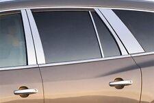 PILLAR POST TRIM SET - Custom Fit - Stainless Steel QAA Chrome Window Accent