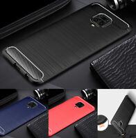 Für Xiaomi Mi 9T Redmi Note 9S 8 8T Silikon Hülle Handyhülle Carbon Schutz Cover