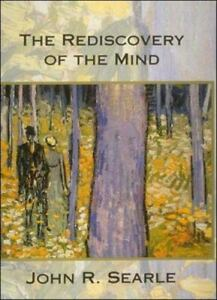 Rediscovery of the Mind Paperback John R. Searle