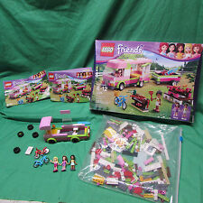Lego Friends Set Adventure Camper 3184 appears Complete or nearly + extra figure