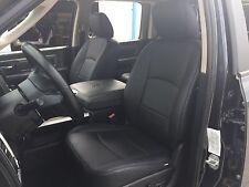 2014 2015 2016 2017 DODGE RAM CREW CAB BLACK KATZKIN LEATHER INTERIOR SEAT COVER