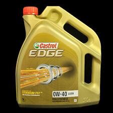 Castrol EDGE Titanium FST 0W-40 A3/B4 5L - BMW, MB, VW, Ford, Porsche