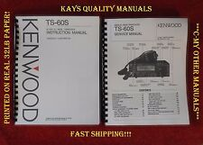 Ts-60S Instruction & Service Manual on 32Lb w/Protective & Heavy Covers!