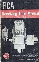 RCA RECEIVING TUBE MANUAL RC-18 1956 PDF