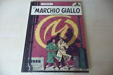 "BLAKE E MORTIMER ""La Marchio Giallo"" Cartonato Ed. GANDUS 80 JACOBS fum 1"