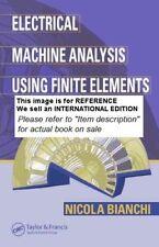 Electrical Machine Analysis Using Finite Elements - Int Ed PaperBack 1 ED