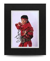 Ricky Steamboat Signed 10x8 Photo Display Wrestling Memorabilia Autograph + COA