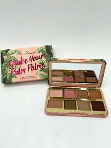 Too Faced Shake Your Palm Palms Mini Eye Shadow Palette NIB