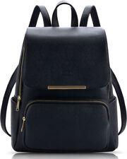 Coofit Women Backpack PU Leather Rucksack Shoulder Bag School College Travel