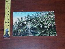 POSTCARD RARE VINTAGE ROSE ARBOR POINT DEFIANCE PARK TACOMA WINSONSIN 1913