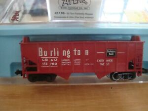 N Scale Atlas 55 ton coal hoppers with loads NEW!!